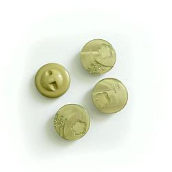 Nasturi cu picior - Floare oliv 25mm