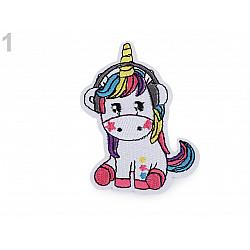 Aplicație termoadezivă Unicorn 1