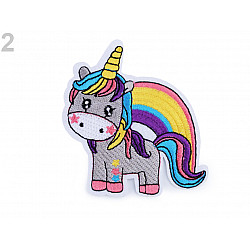 Aplicație termoadezivă Unicorn 2