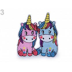 Aplicație termoadezivă Unicorn 3