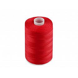 Ață sintetica 40/2, 1000 m - roșu