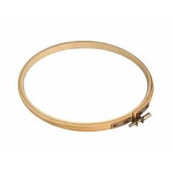 Gherghef din bambus pentru brodat, Ø15 cm