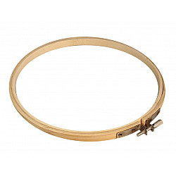 Gherghef din bambus pentru brodat, Ø18 cm