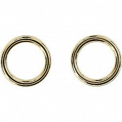 Anou plastic, D: 15mm (ext), D: 11mm (int)  - Auriu, 1 Buc.
