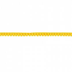 Banda ciucuri 1 cm - Galben
