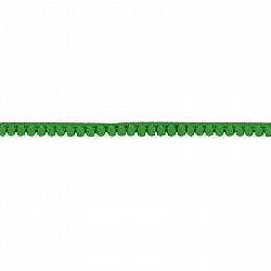 Banda ciucuri 1 cm - Verde