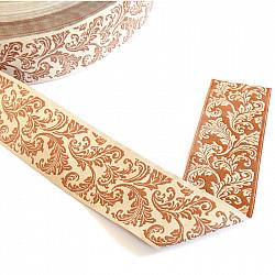 Banda tesuta - Baroc elegant, 3.8cm