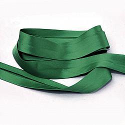 Bias uni, satin - Verde-incis - 1.5cm