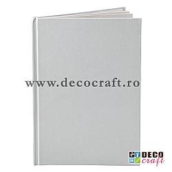 Blank carnet/agenda - Alb, 15x21 cm