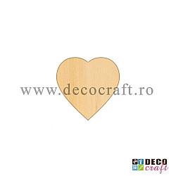 Baza martisor - Inima - 10buc.