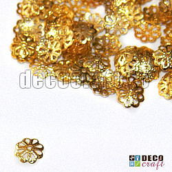 Capacele aurii filigranate - 200buc.