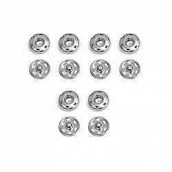 Capse pentru cusut - Cromat - 10 mm, 6 buc.