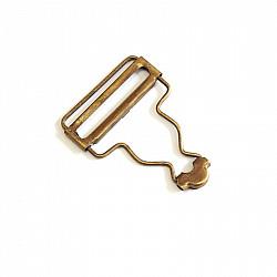 Catarame pentru bretele de 3.8 cm - Bronz