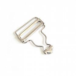 Catarame pentru bretele de 3.8 cm - Cromat