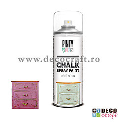 Chalk paint spray, 400ml, Pinty Plus - Roz trandafir
