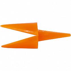 Cioc gaina, L: 30 mm, portocaliu, 1 Buc.