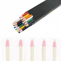 Creion croitorie cu autoascutire - Alb