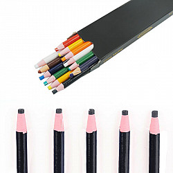 Creion croitorie cu autoascutire - Negru