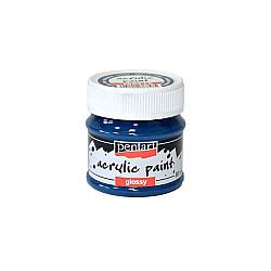 Culoare acrilica lucioasa - 50 ml - Indigo