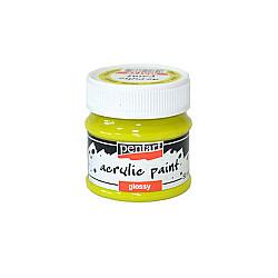 Culoare acrilica lucioasa - 50 ml - Lime
