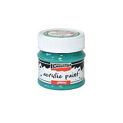 Culoare acrilica lucioasa - 50 ml - Turcoaz