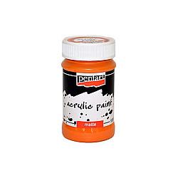 Culoare acrilica mata - 100 ml - Orange