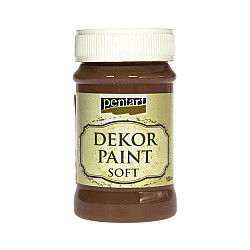 Culoare Dekor Paint Soft 100ml - Maro