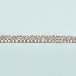 Dantela sintetica 1.2 cm - Grej