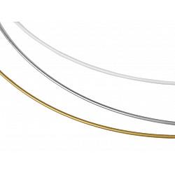 Cerc metalic pentru dreamcatchere, Ø60 cm - argintiu