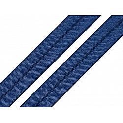 Bias elastic 18 mm (pachet 5 m) - albastru închis