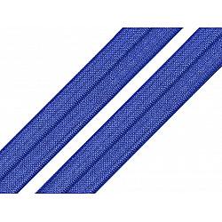 Bias elastic 18 mm (pachet 5 m) - albastru regal