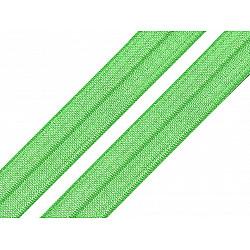 Bias elastic 18 mm (pachet 5 m) - verde pastel deschis