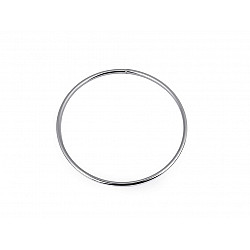 Cerc metalic pentru dreamcatchere, Ø13.5 cm- nichel