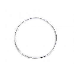 Cerc metalic pentru dreamcatchere, Ø18 cm - nichel