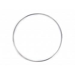 Cerc metalic pentru dreamcatchere, Ø25 cm - nickel