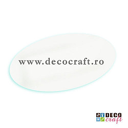Farfurie decor - Oval, 35x23 cm