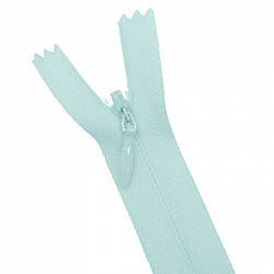 Fermoar ascuns - 20cm, Bleu
