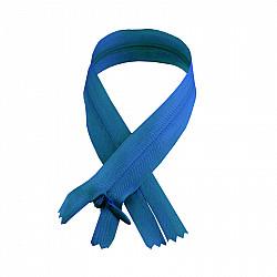 Fermoar ascuns - 50cm, Albastru