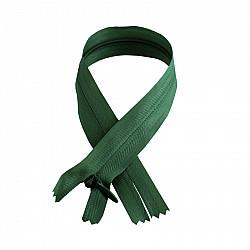 Fermoar ascuns - 50cm, Verde-inchis