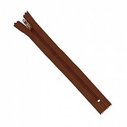 Fermoar clasic - 20cm, Maro ciocolata