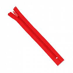 Fermoar clasic - 20cm, Rosu