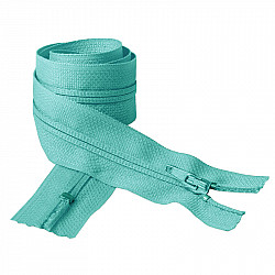 Fermoar clasic - 50cm, Bleu