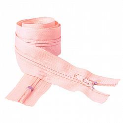 Fermoar clasic - 50cm, Roz pal