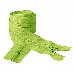 Fermoar clasic - 50cm, Verde crud