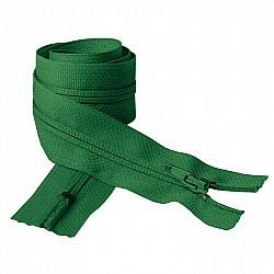 Fermoar clasic - 50cm, Verde-inchis