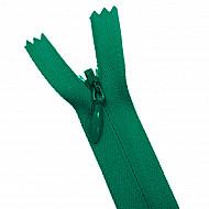 Fermoar ascuns - 20cm, Verde