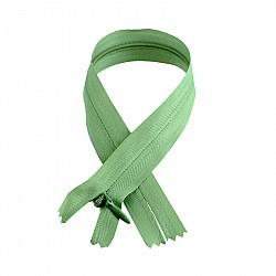 Fermoar ascuns - 50cm, Verde crud