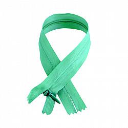 Fermoar ascuns - 50cm, Verde pastel