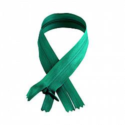 Fermoar ascuns - 50cm, Verde smarald