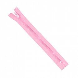 Fermoar clasic - 20cm, Roz pal